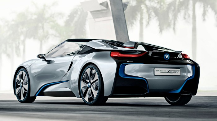 BMW i8 Concept Spyder Wallpaper 1920 1080