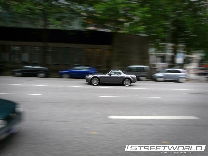 Mazda MX5 Panning Shot