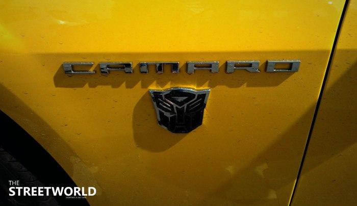 camaro bumblebee edition transformers