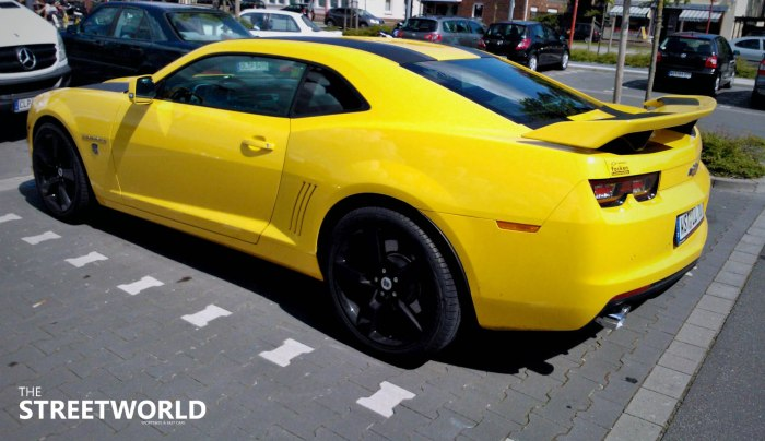 camaro bumblebee edition