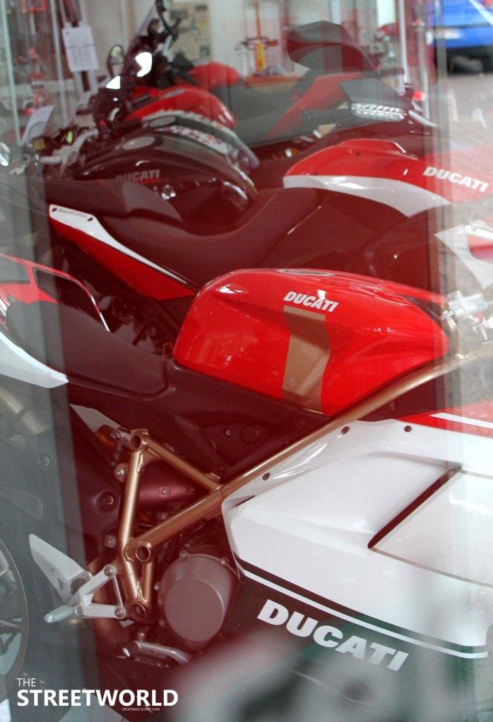 Ducati Showrooms Lineup