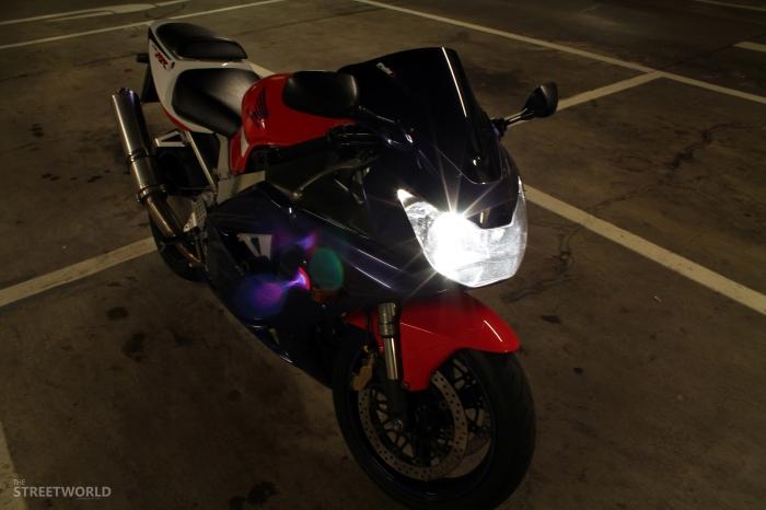 Honda Fireblade Xenon H7 Light
