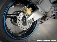 Motorrad Felgenbänder MotoGp Sytle Blau