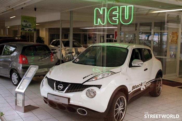 Nissan Juke Black&White