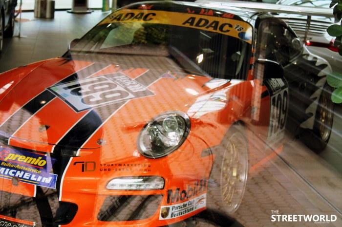 Porsche ADAC Rennwagen