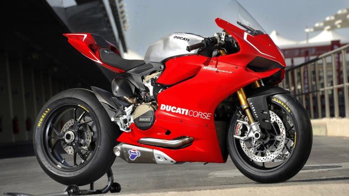 Ducati Corse Panigale S 1199 Race