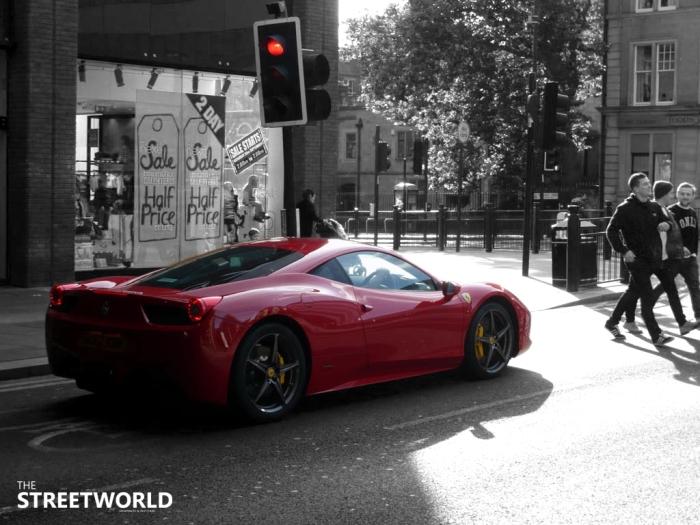 Ferrari 458 England Newcastle