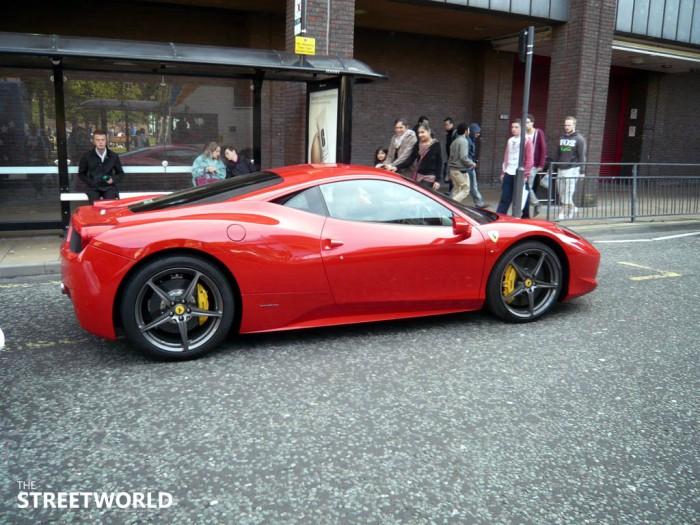 Ferrari 458 Italia England Newcastle