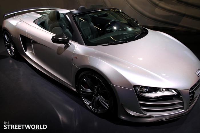 Audi R8 V10 GT 2012