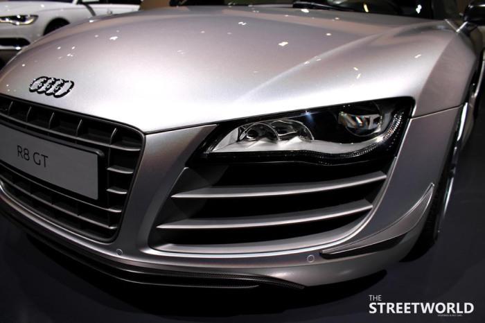 Audi R8 V10 Gt Front