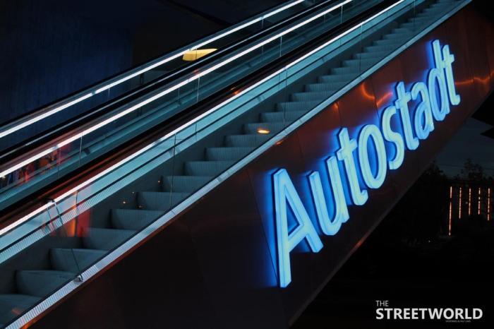 Autostadt Wolfsburg Brücke
