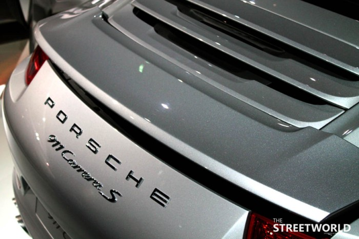 Carrera 4s Spoiler electric
