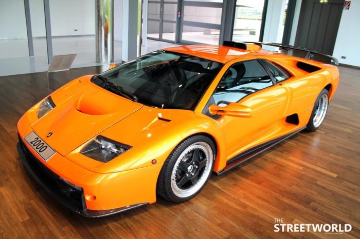 Lamborghini Diabolo GT Front