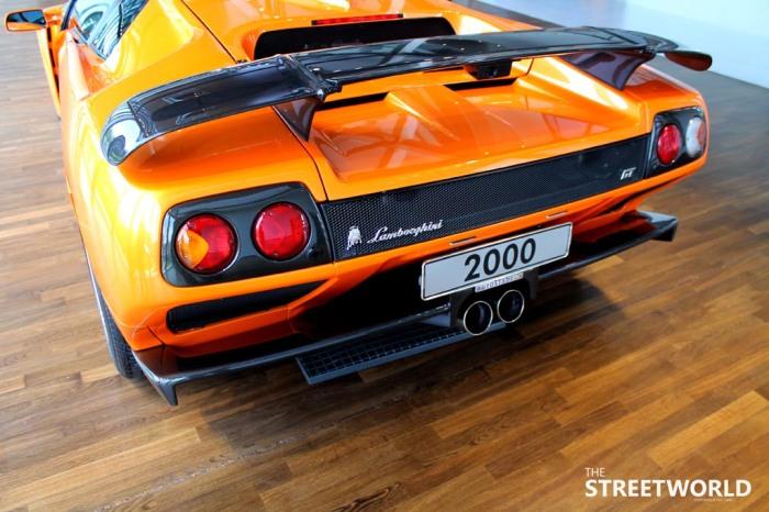 Lamborghini Diabolo GT Rear