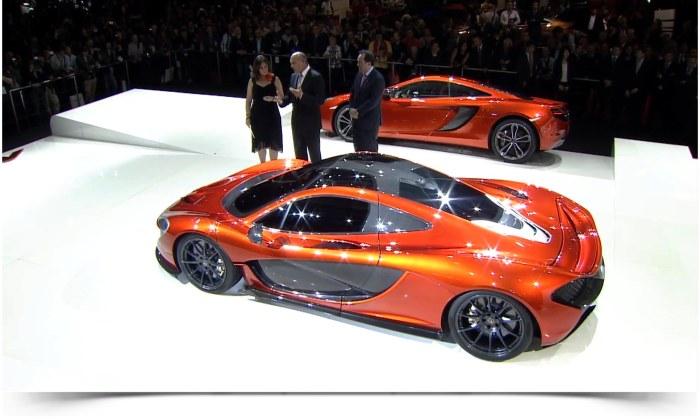 McLare P1 Paris Autoshow