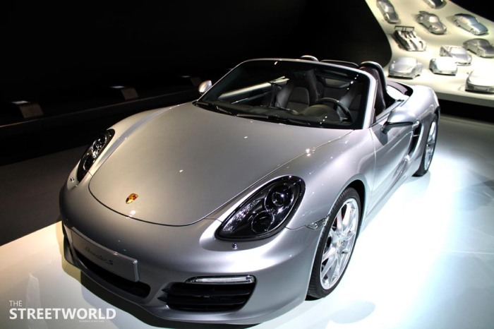 Porsche Boxter S Silver