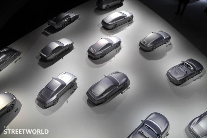 Porsche Pavillion Autostadt Modelle