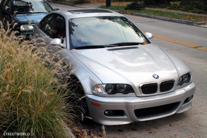BMW E46 M3 Silver Washington D.C.