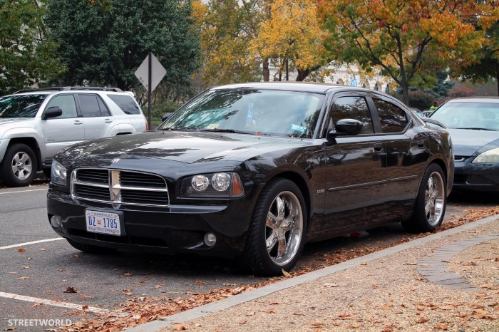 Dodge Charger Chrome Rims