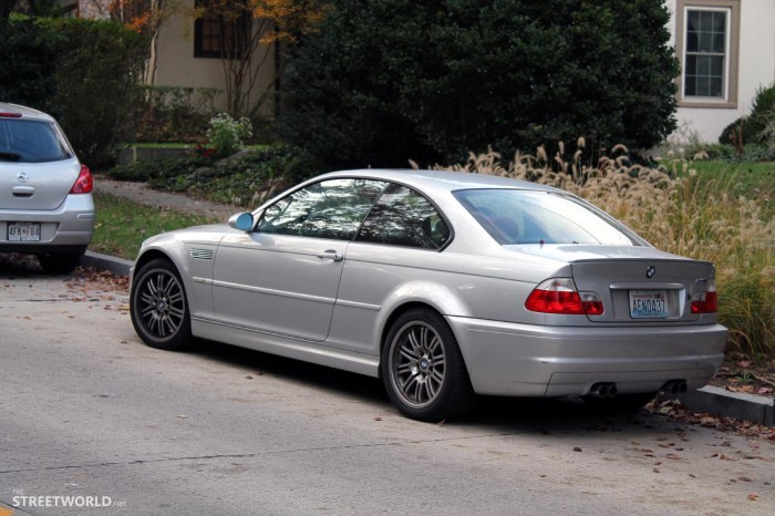 E46 BMW M3 Silver Washington D.C.