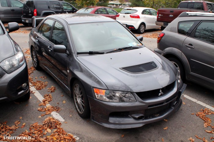 Mitsubishi Lancer Evolution 8 Washington