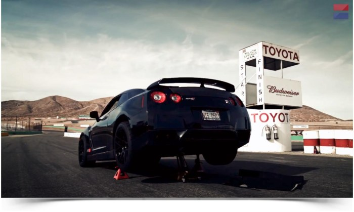 1400 Horsepower AMS Performance Alpha 12 Nissan GT-R