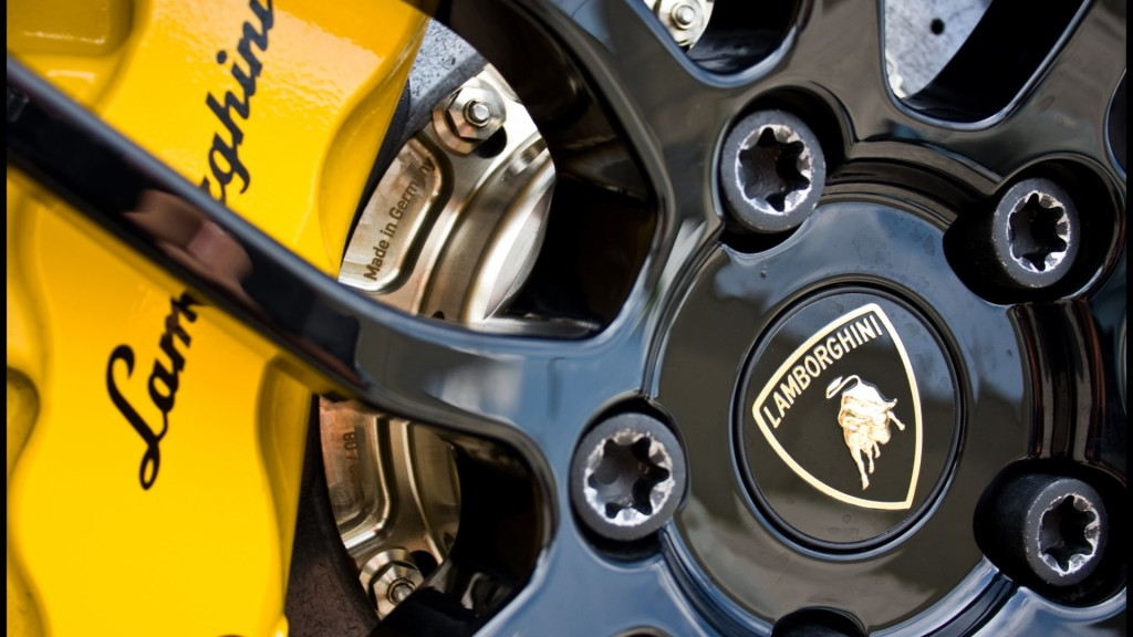 Lamborghini Brake Caliper Wallpaper 1920x1080 Full HD