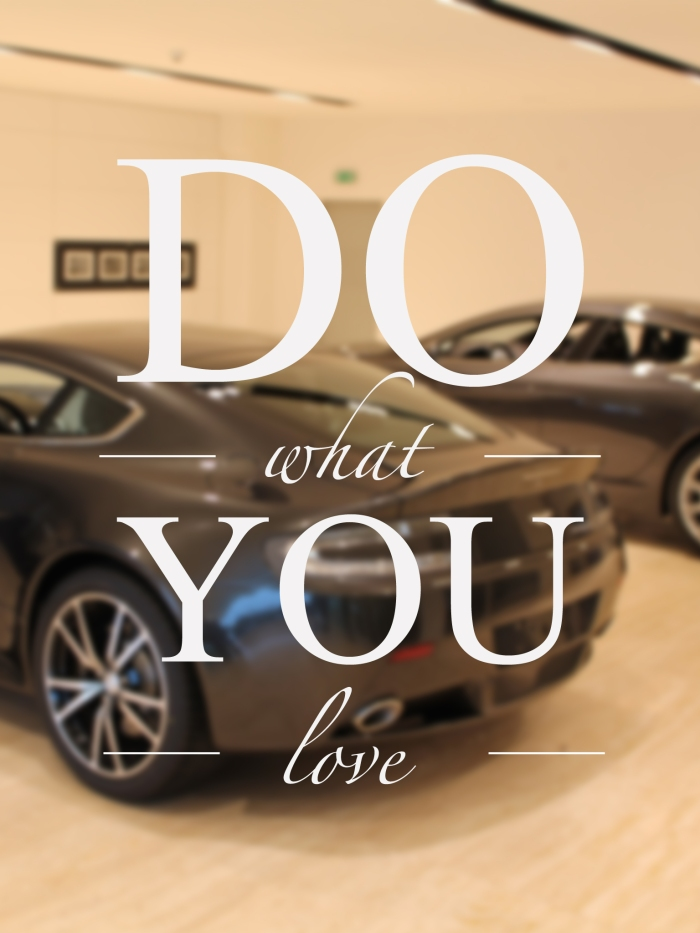 iPad Retina Wallpaper Aston Martin Do What You Love