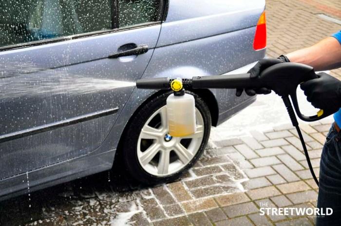 6 Auto waschen Schaumspritze Kärcher