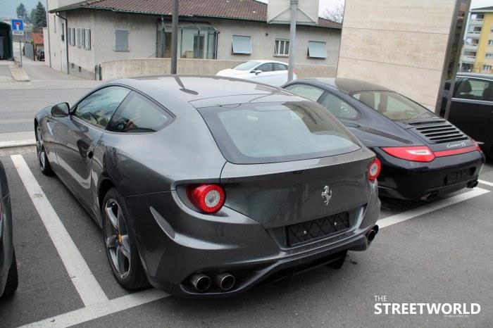 Ferrari 599 gto grey