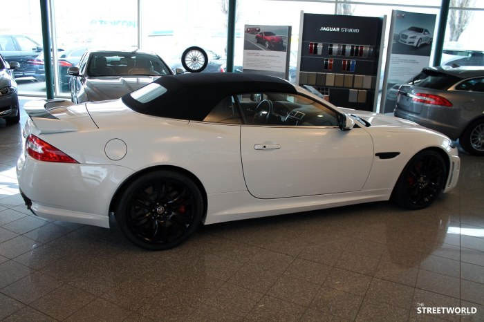 Jaguar Xk R-S white