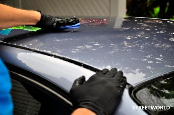 13 Auto Lack Reinigungsknete Anwendung