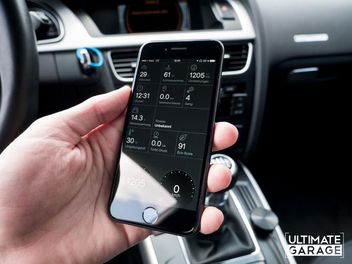 Fahrzeugdaten Echtzeit App