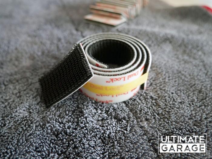 kennzeichen ohne halter befestigen Klettband